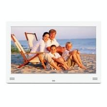 11 6 inch LED Beeldscherm Multi-media Digital Photo Frame met houder & muziek & filmspeler  steun SD / MS / MMC Card & USB & HDMI & AV Input(White)