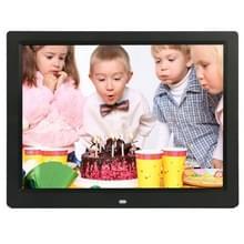 14 inch LED Display Multi-media Digital Photo Frame met houder & muziek & filmspeler  ondersteuning voor USB / SD / MS / MMC Card Input(Black)