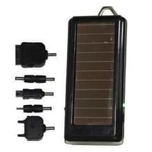 Zonne-energie oplader met zaklamp voor iPhone/mobiele telefoon/MP3/MP4/Digitale Camera (ingebouwde lithiumbatterij: 1500mAh)