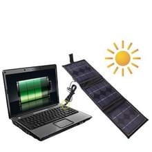 Portable 3 x 2.5 W Solar Panel-Multi-Functional Battery chargers  it can Charge PC with DC Plug