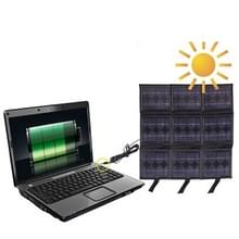 Portable 9x 2.5 W Solar Panel-Multi-Functional Battery chargers  it can Charge PC with DC Plug