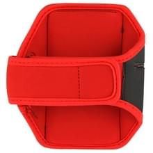 Sport Armband hoesje voor Samsung Galaxy S5 / G900 / S IV / i9500 / i9300 (rood)