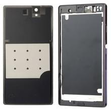 Middelste Board + batterij Back Cover voor Sony L36H (paars)