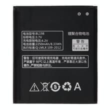 BL198 2250mAh oplaadbare Li-Polymer batterij voor Lenovo A830 / A850