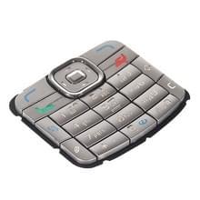Mobiele telefoon Keypads huisvesting vervanging met menuknoppen / toetsen voor Nokia N70(Silver)