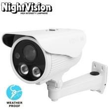 1 / 3 inch Sony 700TVL 6mm vaste Lens Array LED & waterdichte CCD kleurencamera met beugel  steun OSD Control  IR afstand: 50m
