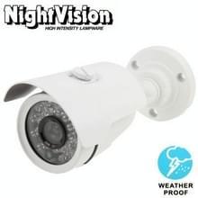 6mm Lens CMOS IR & waterdicht kleuren CCD videocamera  IR afstand: 30m