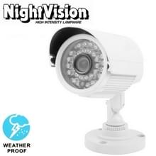 1 / 3 Sony 650TVL 3 6 mm Lens IR & waterdicht kleur CCD videocamera  IR afstand: 50m