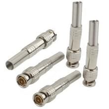 Koper-gratis 5 pc's soldeer Male naar Female BNC-Connector