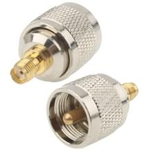 UHF Male naar SMA Female Connector RF coaxiale Adapter