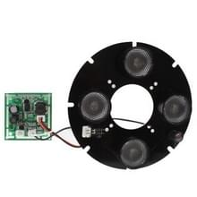 Array 4 LED infrarood lamp bord voor 6mm lens CCD camera  infrarood hoek: 60 graden