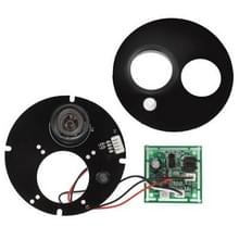 Array 1 LED infrarood Lamp Board voor 8mm Lens CCD Camera  infrarood hoek: 60 graden