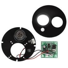 Array 1 LED infrarood Lamp Board voor 8mm Lens CCD Camera  infrarood hoek: 60 graden