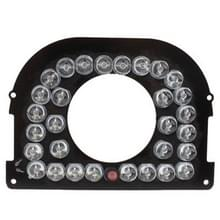 30 LED 8mm infraroodlamp Board voor CCD Camera  infrarood hoek: 60 graden