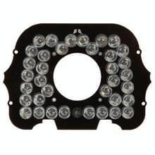 36 LED 8mm infrarood lamp bord voor CCD camera  infrarood hoek: 60 graden (7008-36)