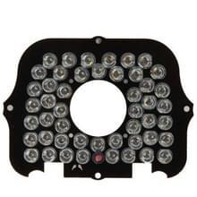 48 LED 8mm infraroodlamp Board voor CCD Camera  infrarood hoek: 30 graden (IR8-48A-8012)