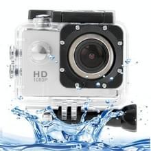SJ4000 Full HD 1080P 1 5 inch LCD Sports Camcorder met waterdichte behuizing  12 0 Mega CMOS-sensor  30m waterdicht(zilver)