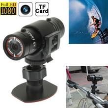 F9 Volledige HD 1080P actie Helm Camera / Sport Camera / fiets Camera  steun TF kaart  120 graden groothoeklens