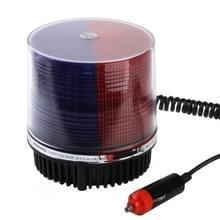 Rood + blauw  briljante sterke Xenon 9 flits strobe waarschuwingslampje voor auto auto