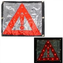 15LED driehoek Emergency auto waarschuwing veiligheid verkeer ondertekenen rood