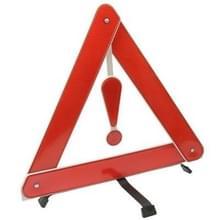 Opvouwbaar draagbaar driehoekswaarschuwingslicht voor voertuig (rood)