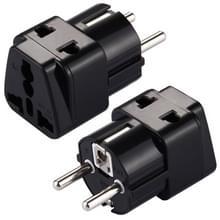 WD-9 draagbare universele Plug naar (Frans / Duits) EU Plug Adapter Power Socket reizen Converter