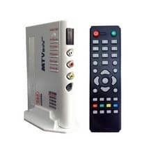 1920x1200 HD LCD TV-Box met afstandsbediening  TV (PAL-BG+PAL-DK)  zilver(zilver)