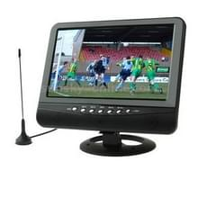NS701 7.5 inch TFT LCD Color Analog TV with Wide View Angle  Support SD/MMC Card  USB Flash Disk(Black)
