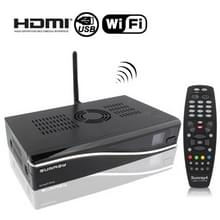 Sunray 4 DM800se SR4 - WIFI, WLAN 300M Three-in-One DVB-S2/C/T met Remote Control(zwart)