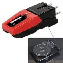 Stereo stylus Needle for Vinyl LP USB Turntable(Black)