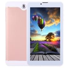 7.0 inch Tablet PC  512 MB + 8 GB  3 G telefoon bel  Android 6.0 SC7731 Quad Core OTG  Dual SIM  GPS  WIFI  Bluetooth (Rose Gold)