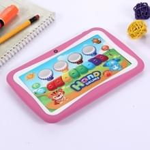 Kinderen onderwijs Tablet PC  7.0 inch  512 MB + 8 GB  Android 5.1 RK3126 Quad Core 1.3 GHz  WiFi  TF kaart tot 32 GB  Dual Camera(Pink)