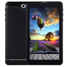 7.0 inch Tablet PC  512 MB + 8 GB  3 G Phone Call  Android 4.4.2  MTK6582 Quad Core tot 1.3 GHz  Dual SIM  WiFi  OTG  Bluetooth(Black)
