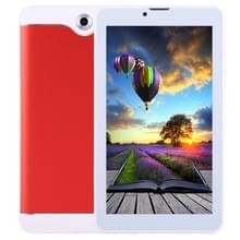 7.0 inch Tablet PC  512 MB + 8 GB  3 G Phone Call  Android 4.4.2  MTK6582 Quad Core tot 1.3 GHz  Dual SIM  WiFi  OTG  Bluetooth(Red)