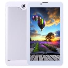 7.0 inch Tablet PC  512 MB + 8 GB  3 G Phone Call  Android 4.4.2  MTK6582 Quad Core tot 1.3 GHz  Dual SIM  WiFi  OTG  Bluetooth(Silver)