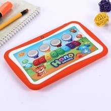 M755 kinderen onderwijs Tablet PC  7.0 inch  512 MB + 8 GB  Android 5.1 RK3126 Quad Core tot 1.3 GHz  360 graden rotatie Menu  WiFi(Orange)