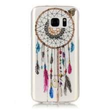 Samsung Galaxy S7 / G930 Glossy tribal dromenvanger patroon TPU back cover Hoesje