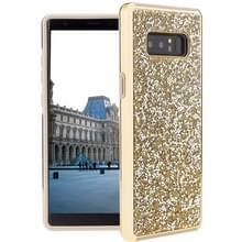 Voor Galaxy Note 8 Diamond serie Electroplating PC TPU beschermende Case(Gold)