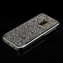 Voor Galaxy S9 Diamond serie galvaniseren PC TPU beschermende Case (zwart)