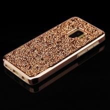 Voor Galaxy S9 Diamond serie galvaniseren PC TPU beschermhoes (Champagne goud)