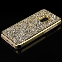Voor Galaxy S9 Diamond serie galvaniseren PC TPU beschermhoes (goud)