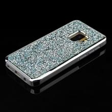 Voor Galaxy S9 Diamond serie galvaniseren PC TPU beschermende Case (blauw)