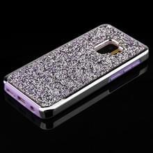 Voor Galaxy S9 Diamond serie galvaniseren PC TPU beschermhoes (paars)