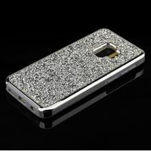 Voor Galaxy S9 Diamond serie galvaniseren PC TPU beschermhoes (zilver)