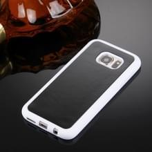 Samsung Galaxy S7 / G930 uniek TPU + kunststof back cover Hoesje met magische Nano zuigtechnologie Wit