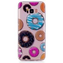 Donut patroon TPU Case voor Galaxy S8