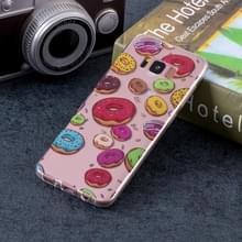 Macaroon patroon zachte TPU Case voor Galaxy S8 PLUS