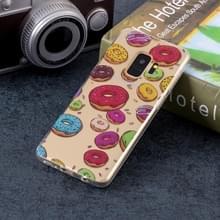 Macaroon patroon zachte TPU Case voor Galaxy S9