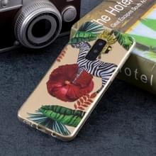 Zebra patroon zachte TPU Case voor Galaxy S9 PLUS