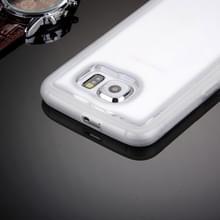 Samsung Galaxy S6 / G920 uniek TPU + kunststof back cover Hoesje met magische Nano zuigtechnologie (transparant)